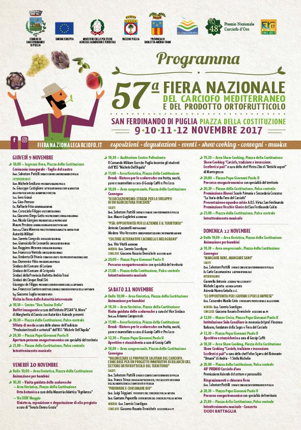Poster Programma 57esima Edizione