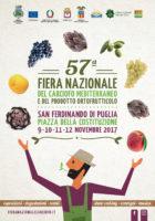 Sono aperte le adesioni alla 57ª Fiera Nazionale del Carciofo Mediterraneo e del Prodotto Ortofrutticolo di San Ferdinando di Puglia