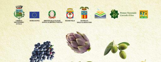 Inaugurazione della 58ª Fiera Nazionale del Carciofo mediterraneo e del prodotto ortofrutticolo di San Ferdinando di Puglia